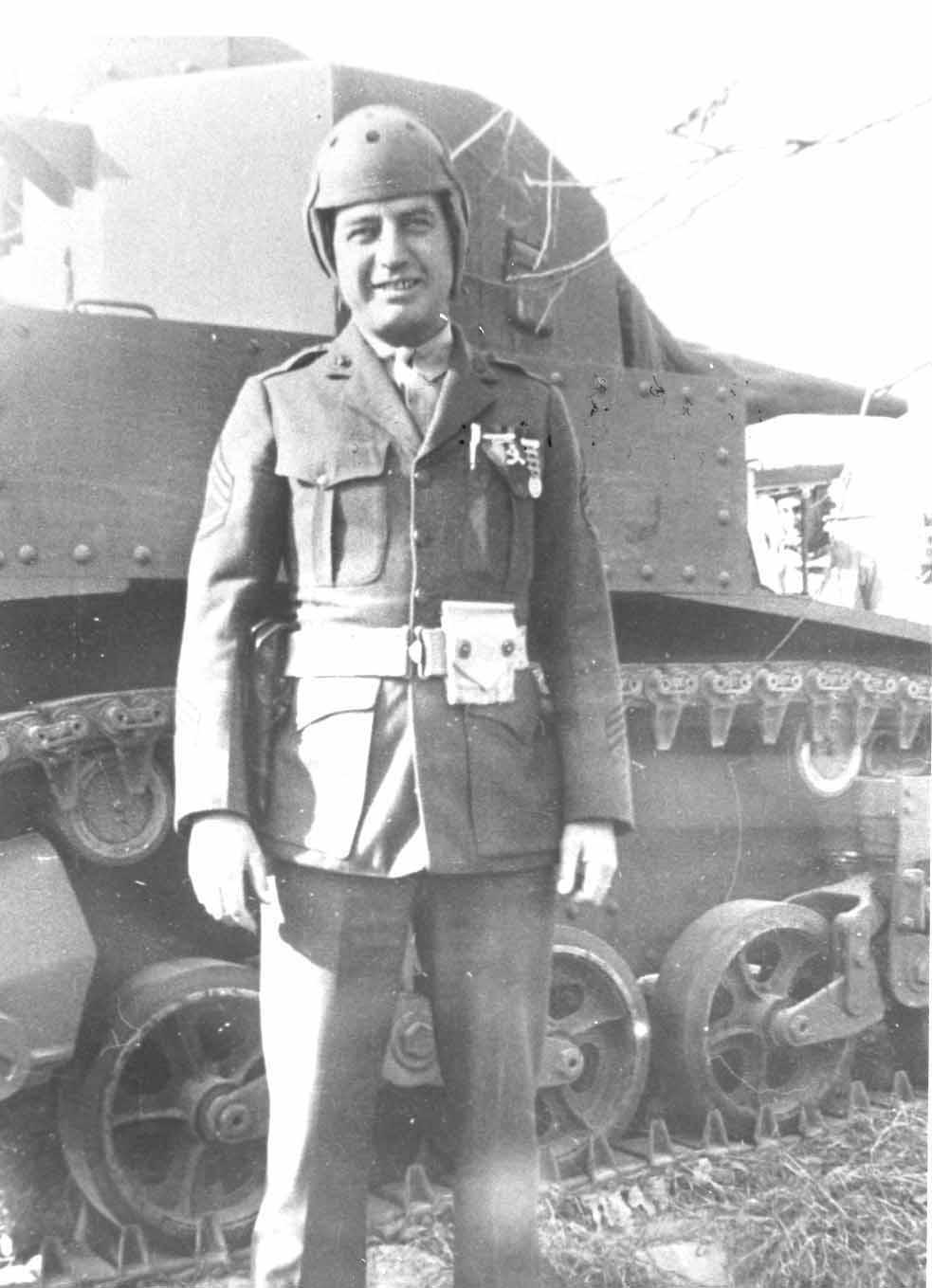 marines via the chieftain s hatch world of tanks company 1st sgt h r robinson of company b 1st tk bn in 1941 usmc