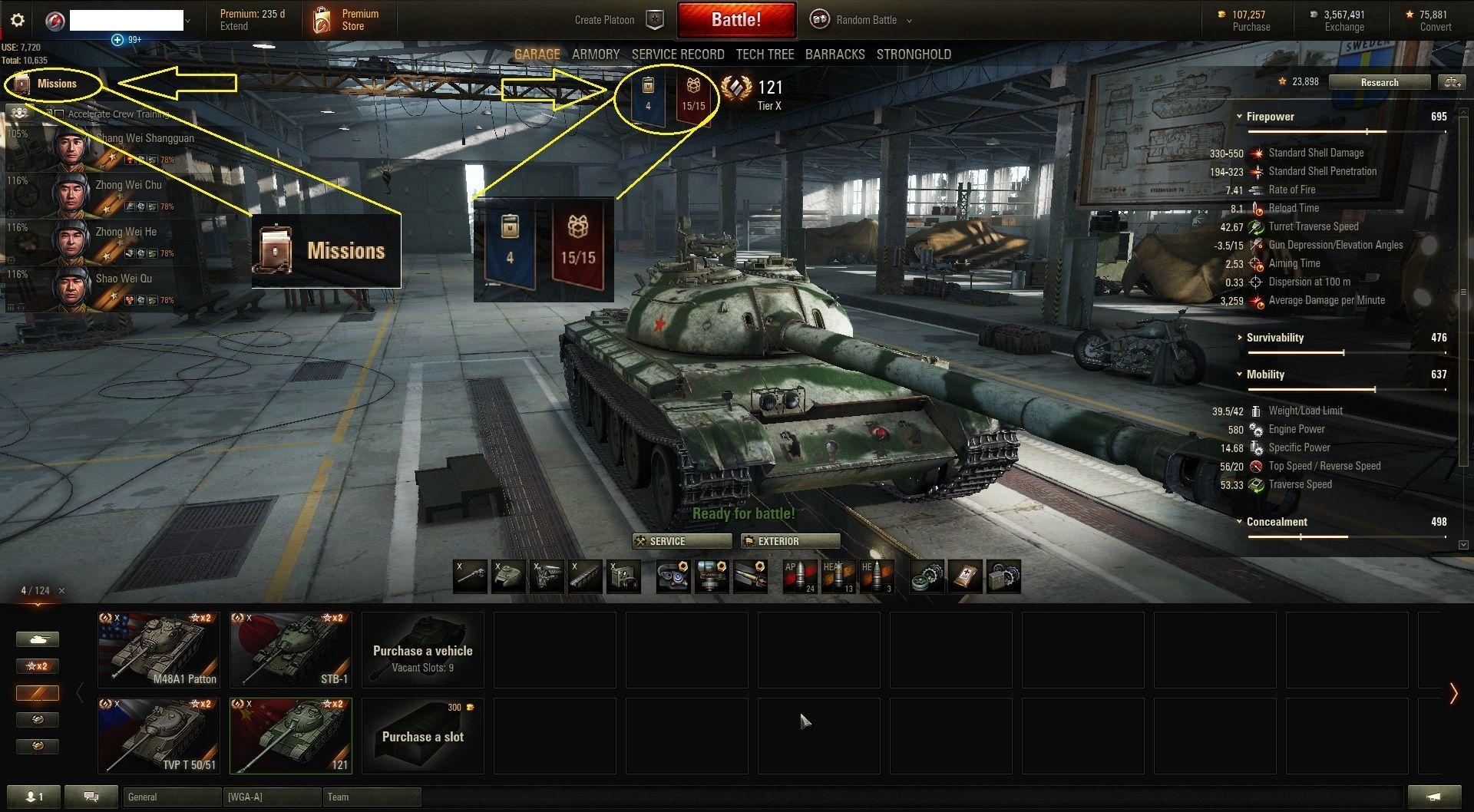 pc gamer world of tanks code