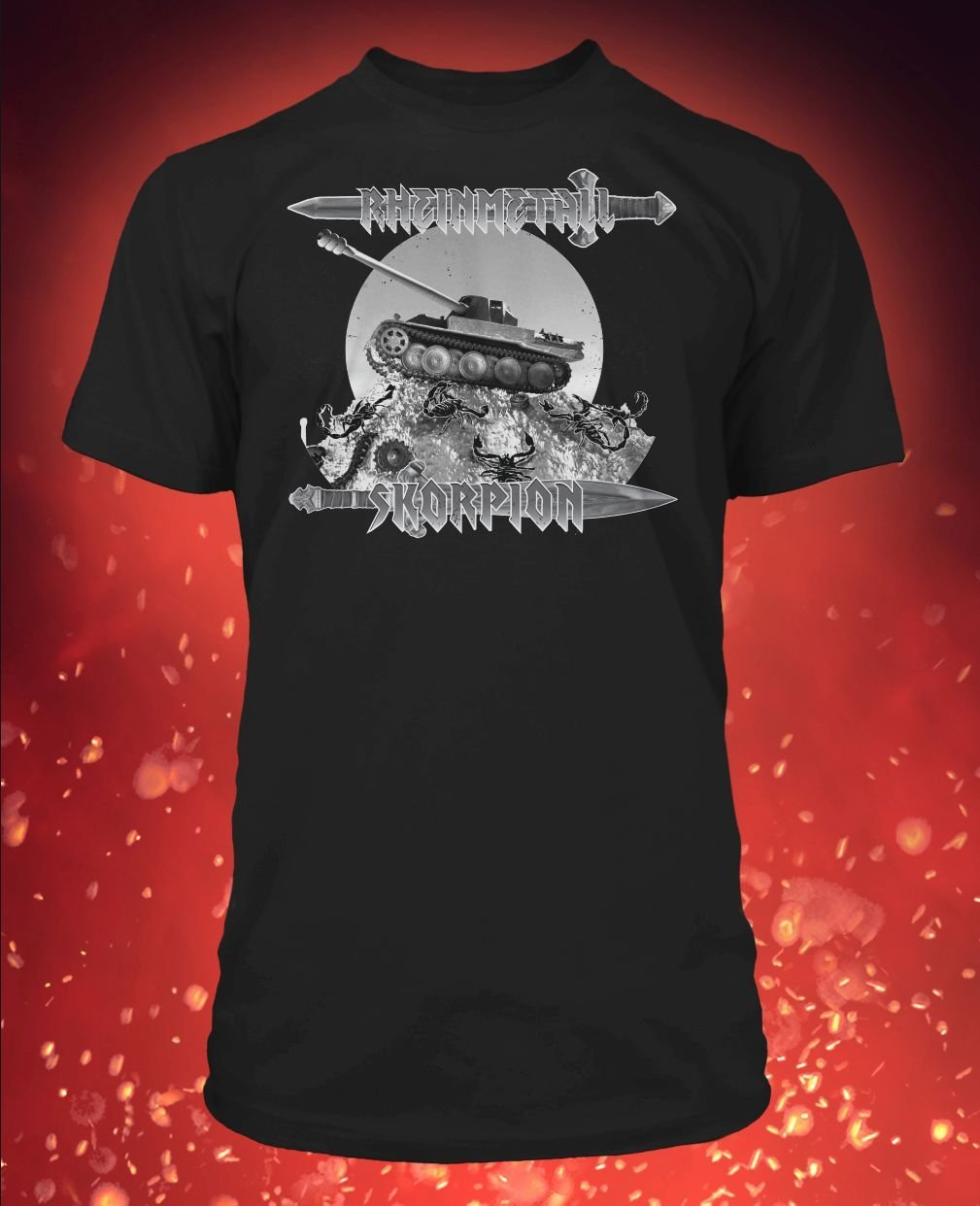 Challenge chips Military and unique Tshirts Business