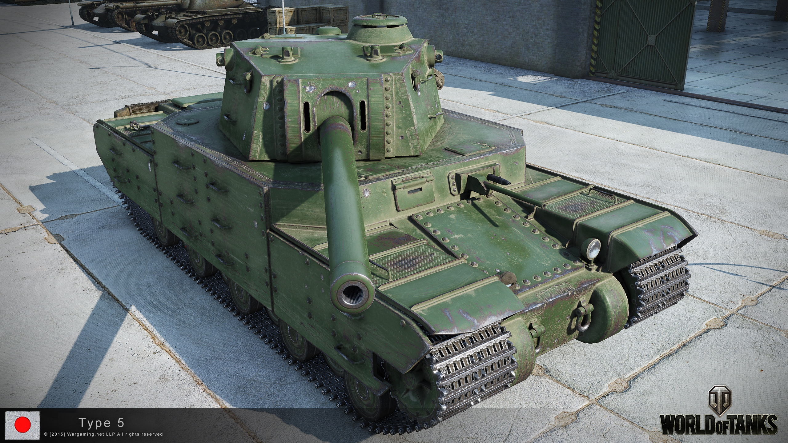 Japanese Heavy Tanks Type5-2_3