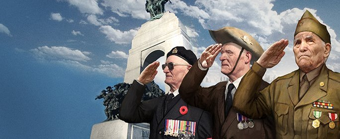 Honoring the brave on Veterans and Remberance days Veteransday2016_header_684x280