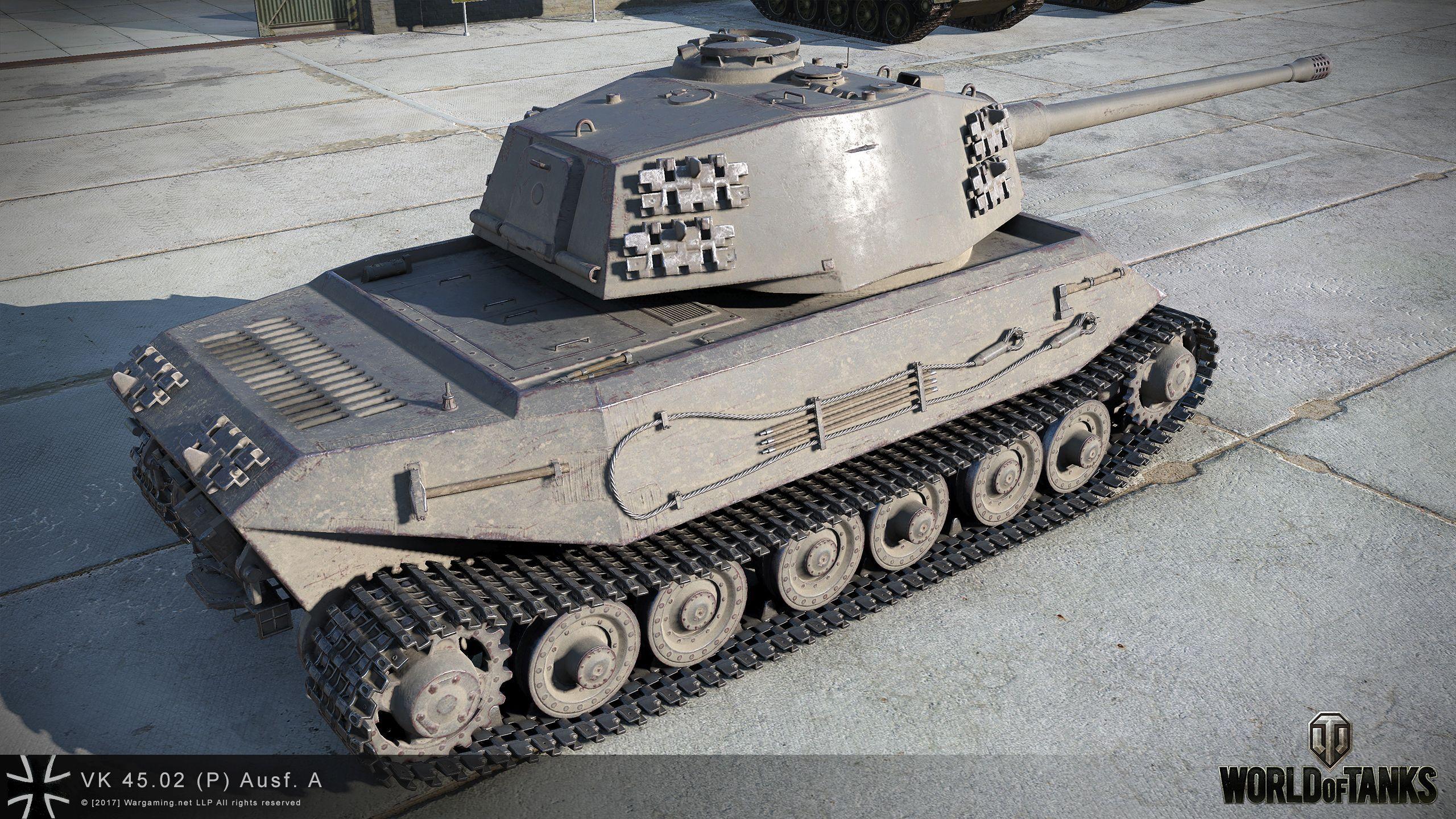 VK 72.01 (K) HD Renders - The Armored Patrol