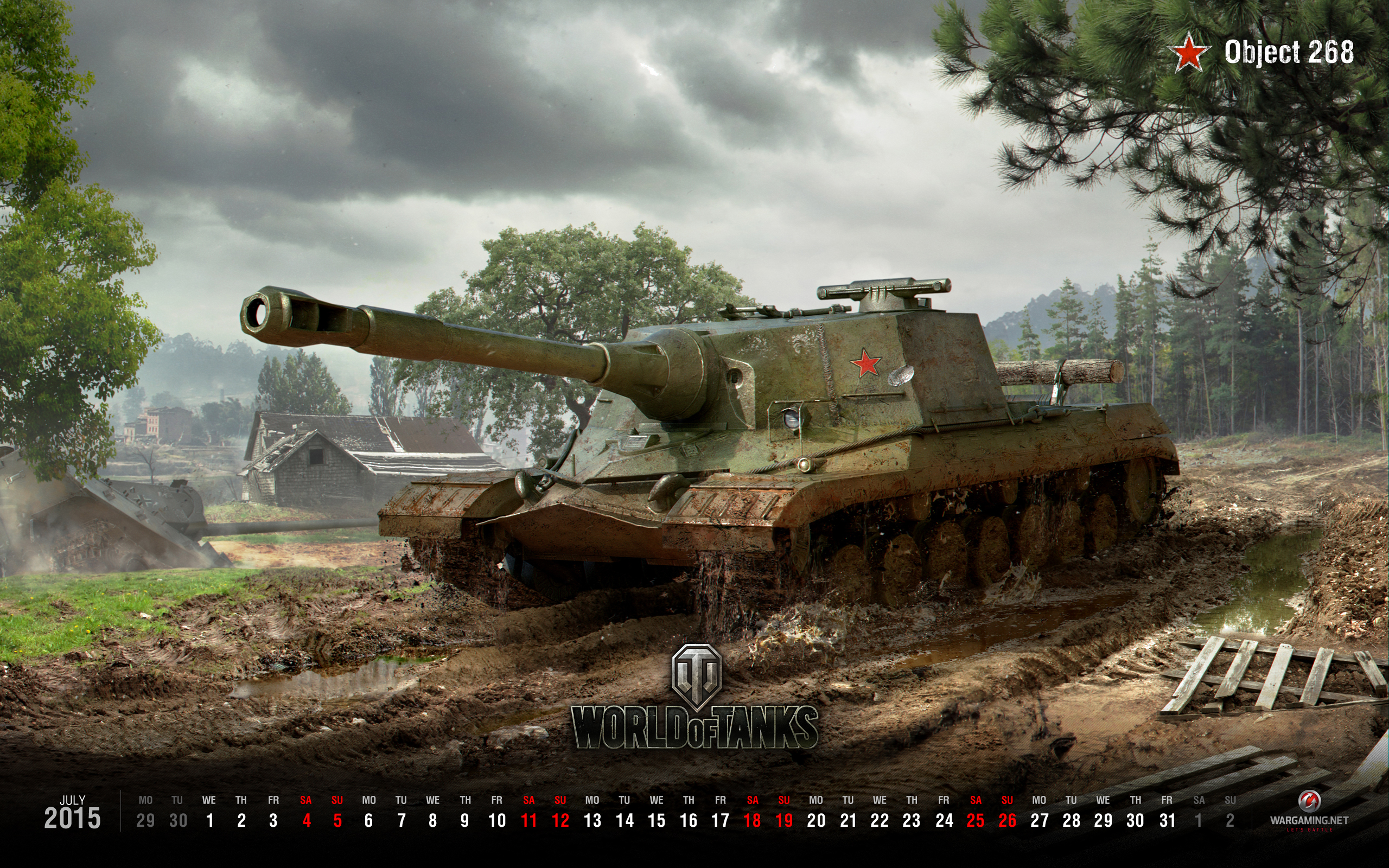 status report: wot july's wallpaper