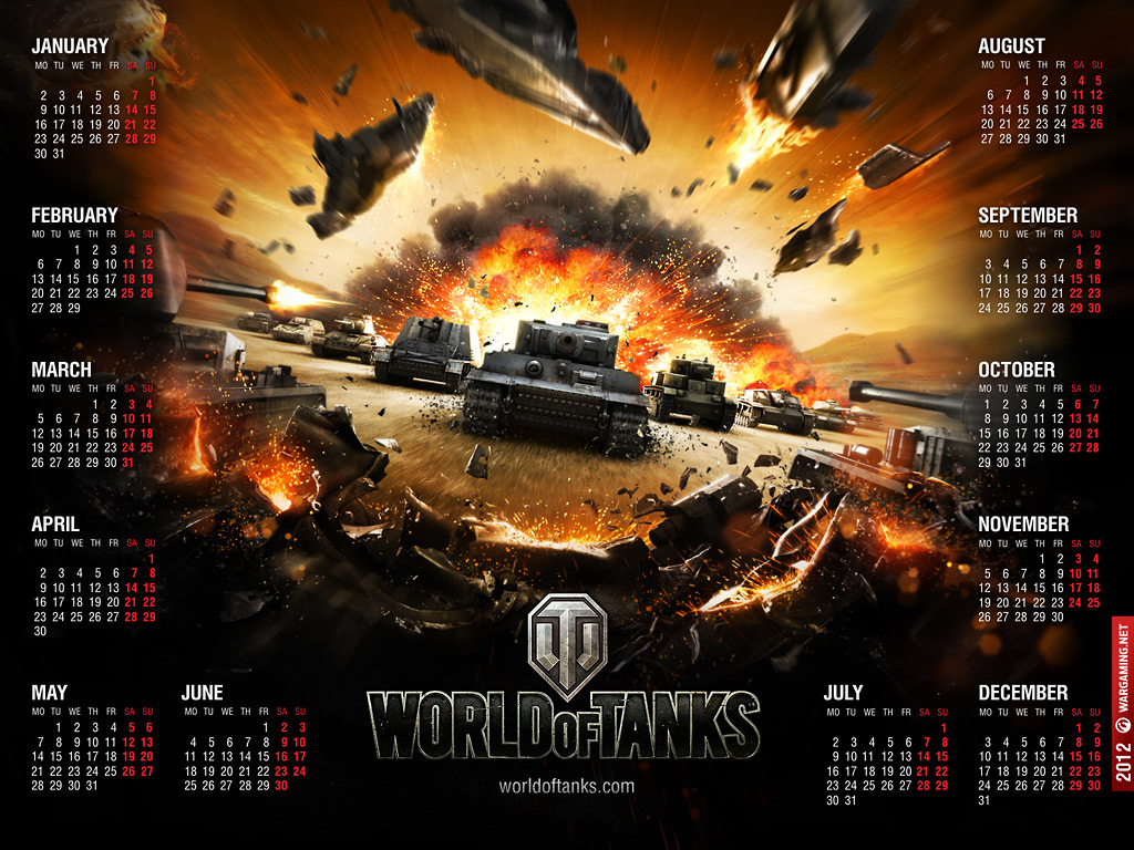 World of Tanks Calendar 1