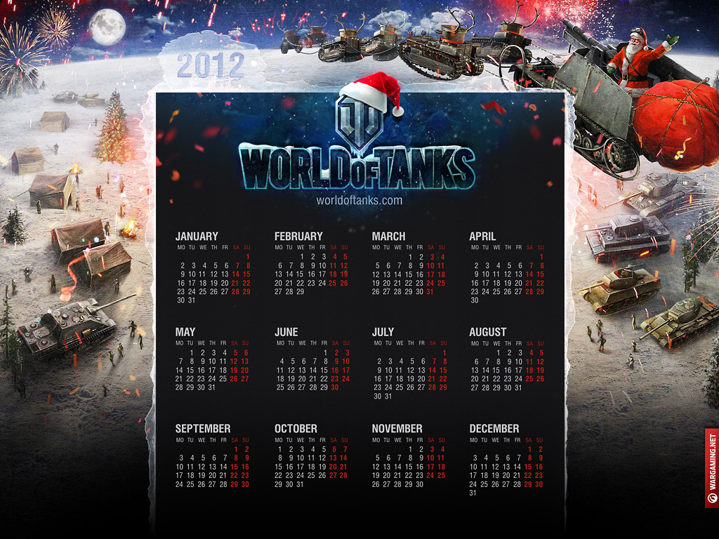 World of Tanks Calendar 3