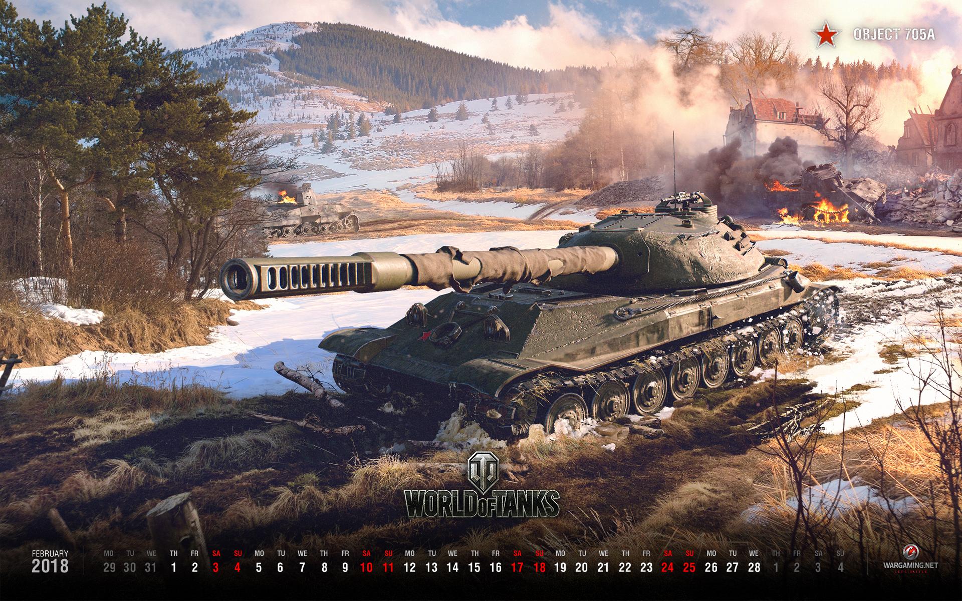 February 2019 Calendar World Of Warships February 2018   Calendars & Wallpapers | Tanks: World of Tanks