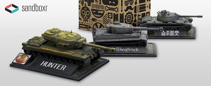 Sandboxr's World of Tanks 3D Line | News | World of Tanks