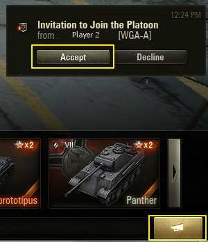 How to Create a Platoon | Guide | World of Tanks