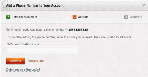 Binding Your Account to a Mobile Phone | Account Security | World of