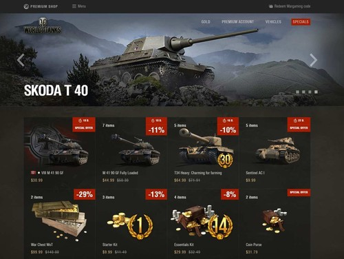 Premium Shop Instructions | Guide | World of Tanks