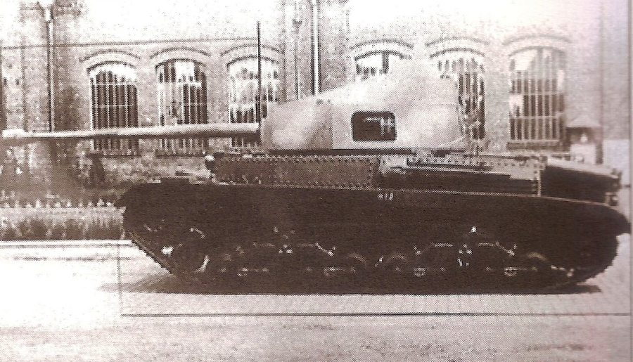 Also Turán III Prototype