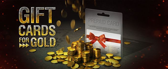 Gift Cards for Gold! | Premium Shop | World of Tanks