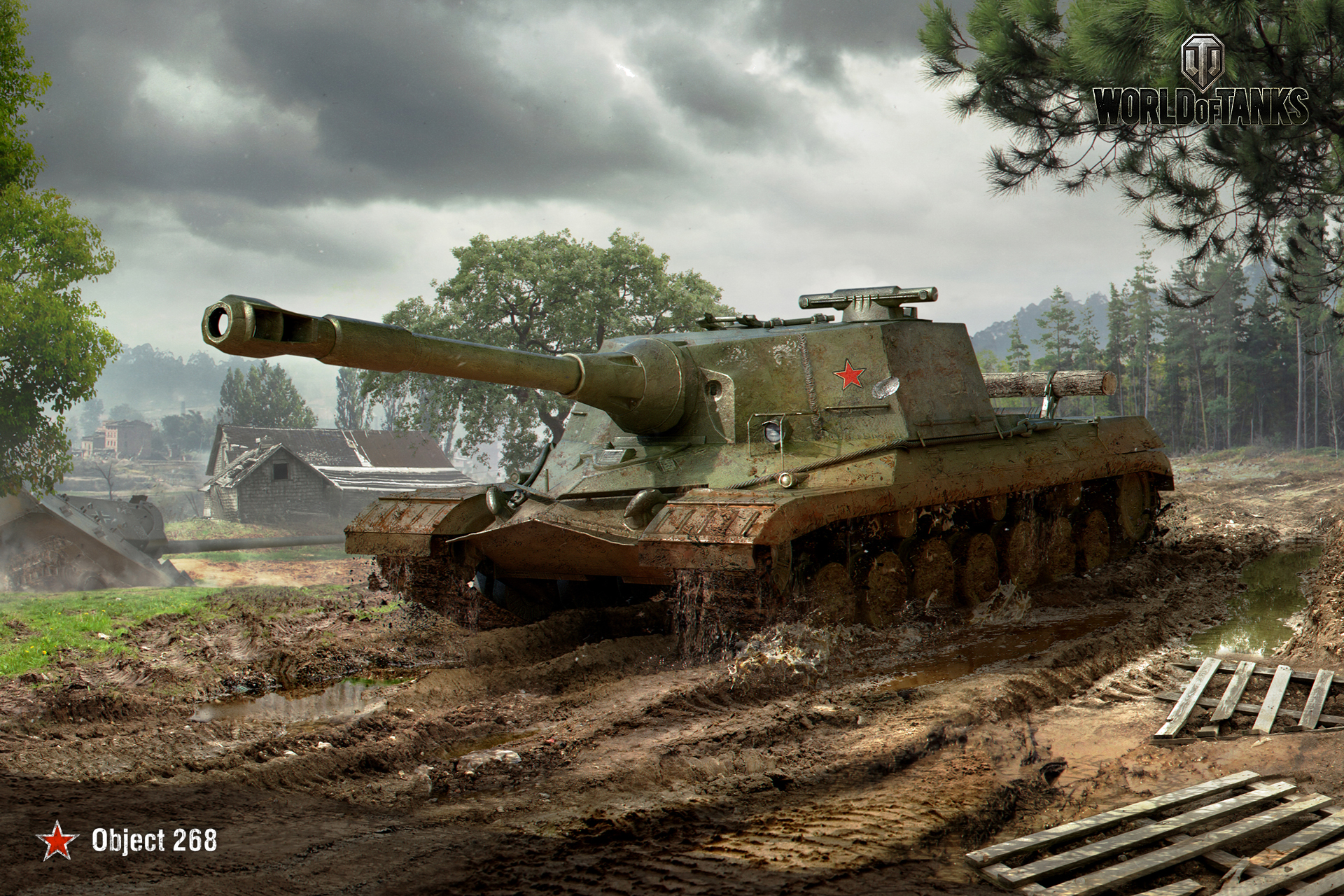 july wallpaper | general news | world of tanks